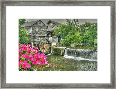 The Old Mill Framed Print by Myrna Bradshaw
