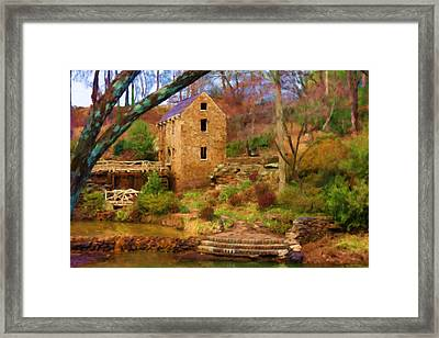 The Old Mill Framed Print by Renee Skiba