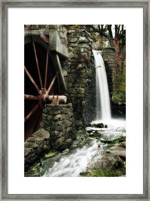 The Old Mill Framed Print by Renee Hong