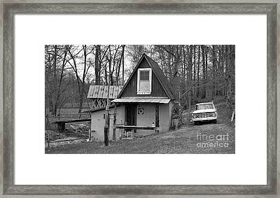 The Old Mill Framed Print by Richard Rizzo