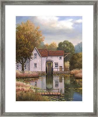 The Old Mill Framed Print by Sean Conlon