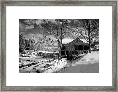 The Old Mill - Weston, Vermont Framed Print