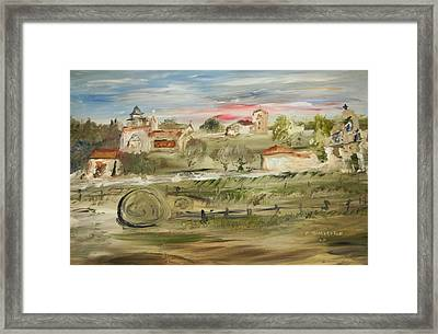 The Old Mission Framed Print by Edward Wolverton