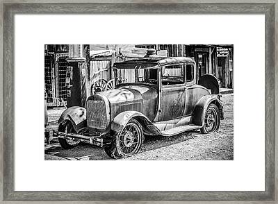 The Old Model Framed Print