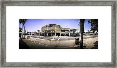 The Old Myrtle Beach Pavilion Framed Print