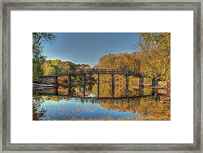 The Old North Bridge Framed Print