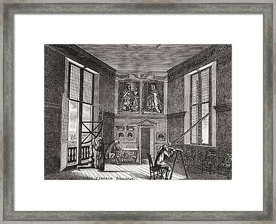 The Old Observing Room, Greenwich Framed Print by Vintage Design Pics