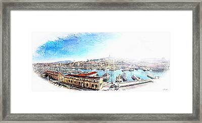 The Old Port Of Marseille  2 Framed Print