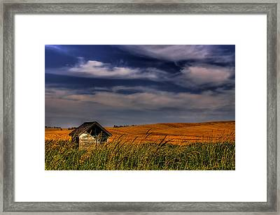 The Old Pumphouse Framed Print by David Patterson