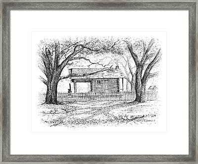 The Old Richardson Place Framed Print