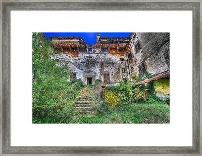 The Old Ruined Castle Framed Print