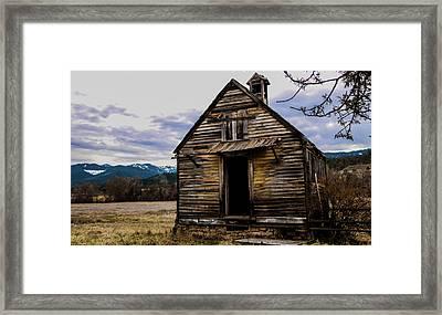 The Old School House Framed Print by Chaznik Raab