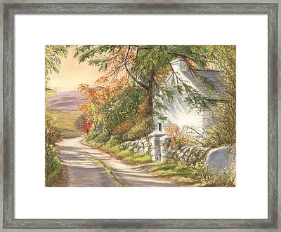 The Old School House Galway Framed Print by Irish Art