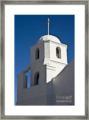 The Old Scottsdale Mission Framed Print