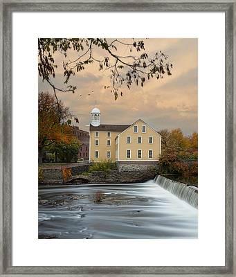The Old Slater Mill Framed Print