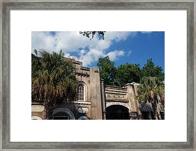 The Old Slave Market Museum In Charleston Framed Print by Susanne Van Hulst