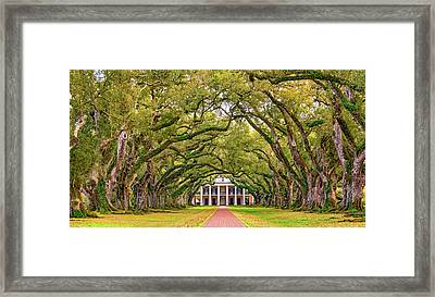 The Old South Version 3 Framed Print