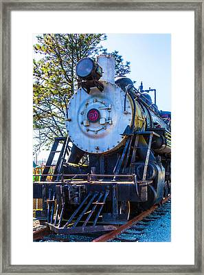 The Old Southern Pacific Lines Engine 90 Framed Print