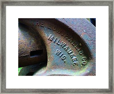 The Old Stamp Mill- Findley Mine Framed Print