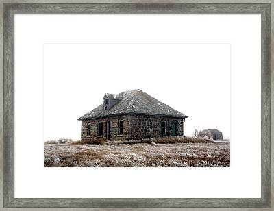 The Old Stone House Framed Print