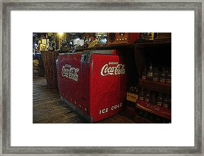 The Old Store Framed Print by David Lee Thompson