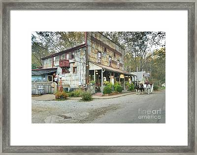 The Old Story Inn 1851 Nashville Indiana - Original Framed Print by Scott D Van Osdol