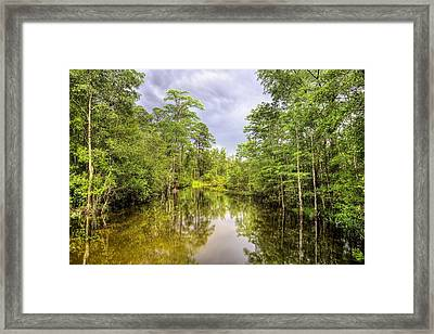 The Old Swimming Hole Framed Print by JC Findley