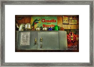 The Old Tea Shop By Kaye Menner Framed Print by Kaye Menner
