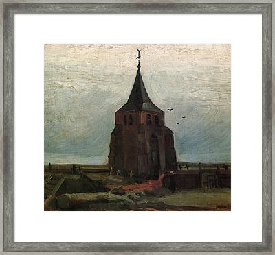 The Old Tower, 1884 Framed Print