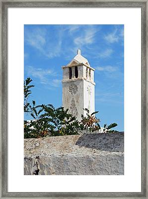 The Old Tower Framed Print by Armand Hebert