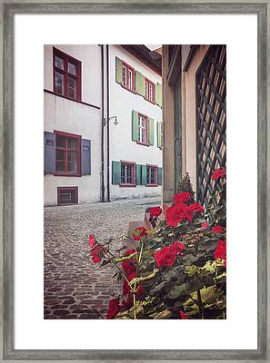 The Old Town Framed Print by Carol Japp