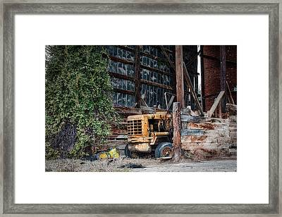 The Old Train Depot Framed Print