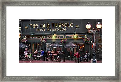 The Old Triangle Alehouse Framed Print by Glenn Gordon