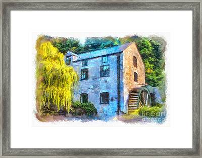 The Old Water Mill  Framed Print by Chris Evans