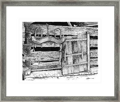 The Old Ways Framed Print