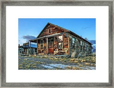 The Old Wendel General Store Framed Print by James Eddy