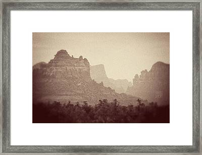 The Old West Framed Print