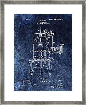 The Old Wine Press Framed Print