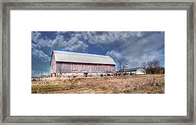 The Olde Farmstead Framed Print by Deborah Klubertanz