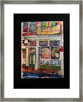 The Olive Branch Cafe Framed Print