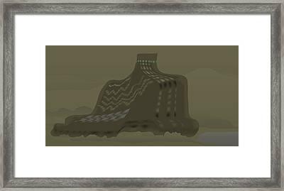 The Olive Citadel Framed Print
