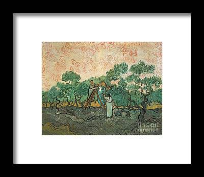 Post-impressionist Framed Prints