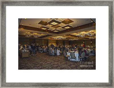The Omni Grove Park Inn Meeting Room Framed Print by David Oppenheimer