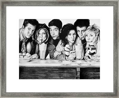 The One At The Diner Framed Print by Sarah Stonehouse