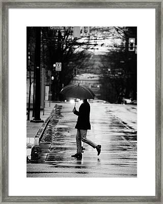 Framed Print featuring the photograph The One Chance I Found  by Empty Wall