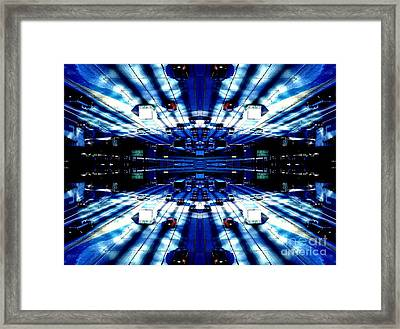 The One Ten Downtown Framed Print
