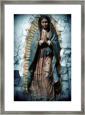 The One Who Crushes The Serpent  Framed Print by Melissa Wyatt