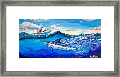 The One With Sigsbee Deep Framed Print by Cameron Walls