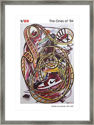 The Ones Of '84 Framed Print