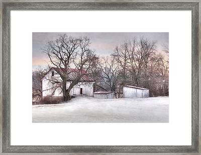 The Onion Snow Framed Print